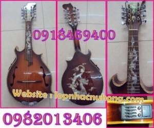 Bán đàn Mandolin, nhiều kiểu dáng mới, đẹp.