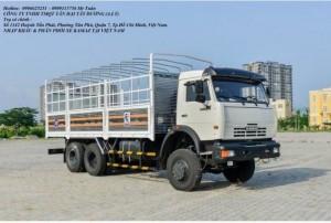 Xe tải thùng Kamaz 53229 (6x4) tải thùng...