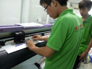 In decal nhựa chuyên dụng cho mặt hàng sản phẩm đông lạnh