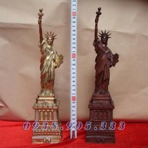 Tượng Nữ thần Tự do, Statue of Liberty bằng đồng vàng