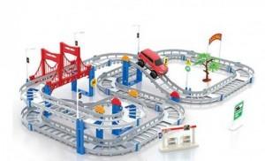 Mô hình đường ray xe ôtô chạy pin