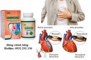 Cardocorz ngăn ngừa biến chứng đặt stent mạch vành.