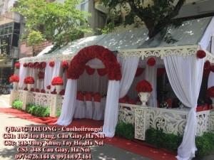 Trang trí cưới hỏi trọn gói trong nhà tại 348 Cầu Giấy