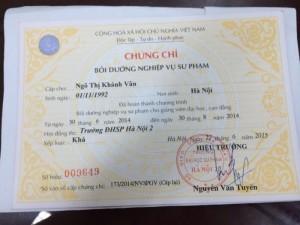 Nghiệp vụ sư phạm giảng viên học tại Nha Trang, Đà Lạt