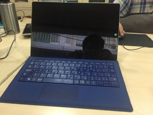 Surface Pro 3 - i5 4300 - 4G - 128G - cover blue