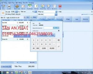 Phần mềm với giao diện tiếng Việt, đơn giản, thân thiện dễ sử dụng