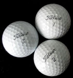Combo 12 bóng golf thương hiệu Titleist Pro v1