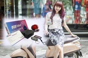 Khóa Chống Trộm Xe Máy Iky Bike Bằng Thẻ Từ