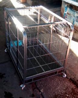 Chuồng Chó Sắt Lắp Ghép Xuất Khẩu KT946383