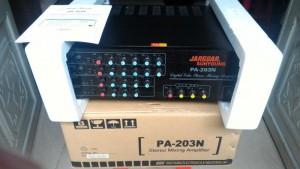 Amply Karaoke, nghe nhạc JARGUAR PA - 203N Made in Korea