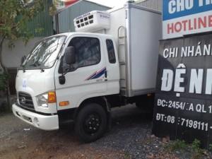 Hyundai hd 72 thùng đông lạnh. nhập khẩu.doi...