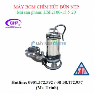 Máy bơm chìm hút bùn NTP HSF2100-15.5 20 (7.5HP)
