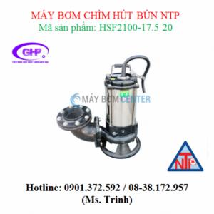 Máy bơm chìm hút bùn NTP HSF2100-17.5 20 (10HP)