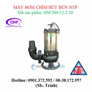 Máy bơm chìm hút bùn NTP HSF280-12.2 20 (3HP)