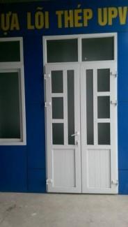 Cửa nhựa lõi thép upvc- sản xuất lắp đặt cửa nhựa lõi thép tại thanh hóa