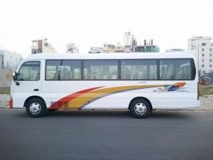 Xe khách Hyundai County thân dài, 29 chỗ đời 2017