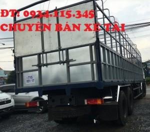 xe tai dongfeng 17.9T máy Cumin.Xe tải DongFeng Hoàng Huy L315( 4 chân)- xe tải dongfeng 17.9 tấn( 4 chân) máy Cumin.