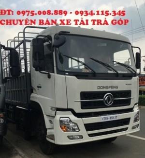 xe tai dongfeng L315,Xe tải DongFeng Hoàng Huy L315( 4 chân)- xe tải dongfeng 17.9 tấn( 4 chân) máy Cumin.