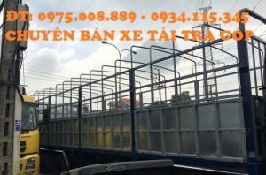 bán xe dongfeng Hoang Huy 4 chân.Xe tải DongFeng Hoàng Huy L315( 4 chân)- xe tải dongfeng 17.9 tấn( 4 chân) máy Cumin.