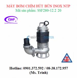 Máy bơm chìm hút bùn inox NTP SSF280-12.2 20 (3HP)
