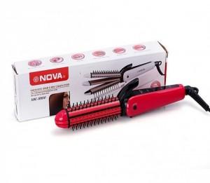 Máy tạoThông tin chi tiết - Loại sản phẩm: Lược duỗi - bấm - uốn xù. - Nhiệt độ : 180 - 200 độ C - Nguồn điện: AC 110V-220V, 35W. - Chiều dài 25 cm. - Lọn uốn: 26 mm - Đế xoay 360 độ. - Màu sắc: hồng  kiểu tóc đa năng 3 trong 1 Nova NHC-8890
