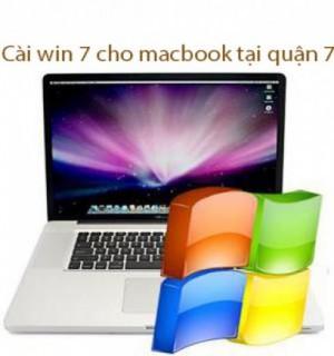 Dịch vụ cài win 7 cho macbook tại quận 7