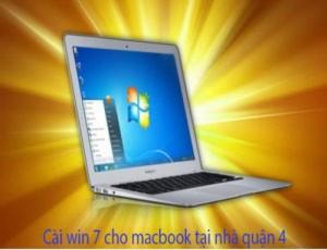 Dịch vụ cài win 7 cho macbook tại quận 4