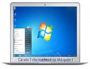 Dịch vụ cài win 7 cho macbook tại quận 1