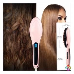 Sản phẩm hot! Lược Điện Tự Động Chải Thẳng Tóc FAST HAIR STRAIGHTENER HQT-906 - MSN388021