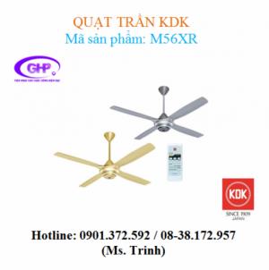 Quạt trần có remote KDK M56XR