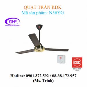 Quạt trần KDK N56YG giá rẻ