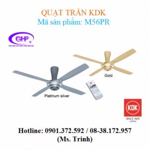 Quạt trần có remote KDK M56PR