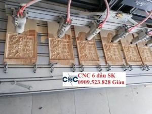 Máy cnc 6 đầu hàng nhập giá rẻ nhất thị trường