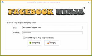Facebook Ninja- Phần mềm đăng tin quảng cáo Facebook hiệu quả