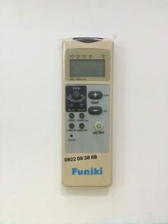 Remote Máy Lạnh FUNIKI, Mới 100%,Tặng kèm 2 Pin 3A, Gía 130k