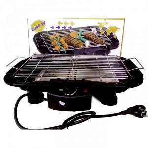 Giảm mùi và khói Vỉ nướng điện Electric Barbecue Grill có khay chứa nước giảm được mùi và khói lan tỏa ra xung quanh  mức vỉ nướng
