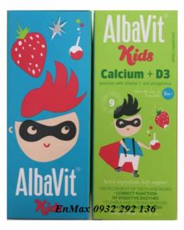 Albavit kids calcium D3 giúp phát triển chiều cao ở trẻ