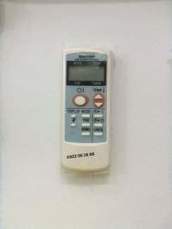 Remote máy lạnh shap