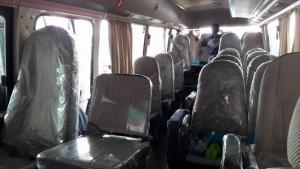 Thanh lý nhanh Xe khách 29 chỗ kiểu dáng County ,xe bus 29 ghế ngồi hàng tồn kho đời 2013