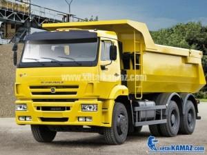 Xe ô tô tải tự đổ KAMAZ 6520 6x4 thể tích...