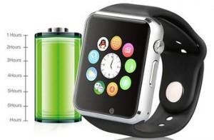Đồng hồ thông minh Smartwatch A1 màu đen
