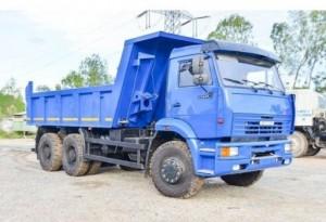 Xe ô tô tải tự đổ KAMAZ 6520-728 (6x4) thể tích thùng ben 16m3, trọng tải thiết kế 20 tấn