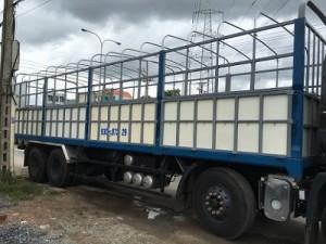 Thông số chung xe tải dongfeng 18T7(18.7 tấn) xe mới 2016: