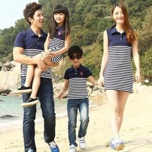 Set áo gia đình 4 người