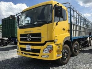 xe tải dongfeng 4 chân/ 4 giò- xe tải dongfeng Hoàng Huy L315- giá xe 4 chan dongfeng- xe tải 17.8 tấn dongfeng.