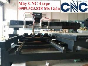 MÁy CNC 4 trục đục tượng nhập khẩu