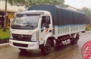 Bán xe tải veam 7T5 VT751, xe tải veam 7T5 động cơ Hyundai, bán xe trả góp lãi suất thấp