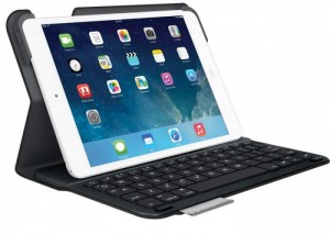 Bao da kèm bàn phím Logitech dành cho iPad Air có sẵn