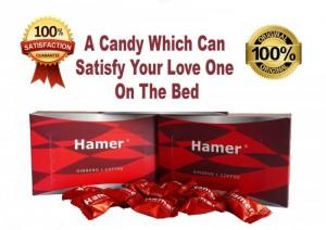 Hamer Ginseng & Coffee Candy kẹo sâm tăng cường sinh lực phái mạnh