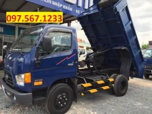 Hyundai hd99 ben 5 tấn,   hỗ trợ vay ngân hàng 80%